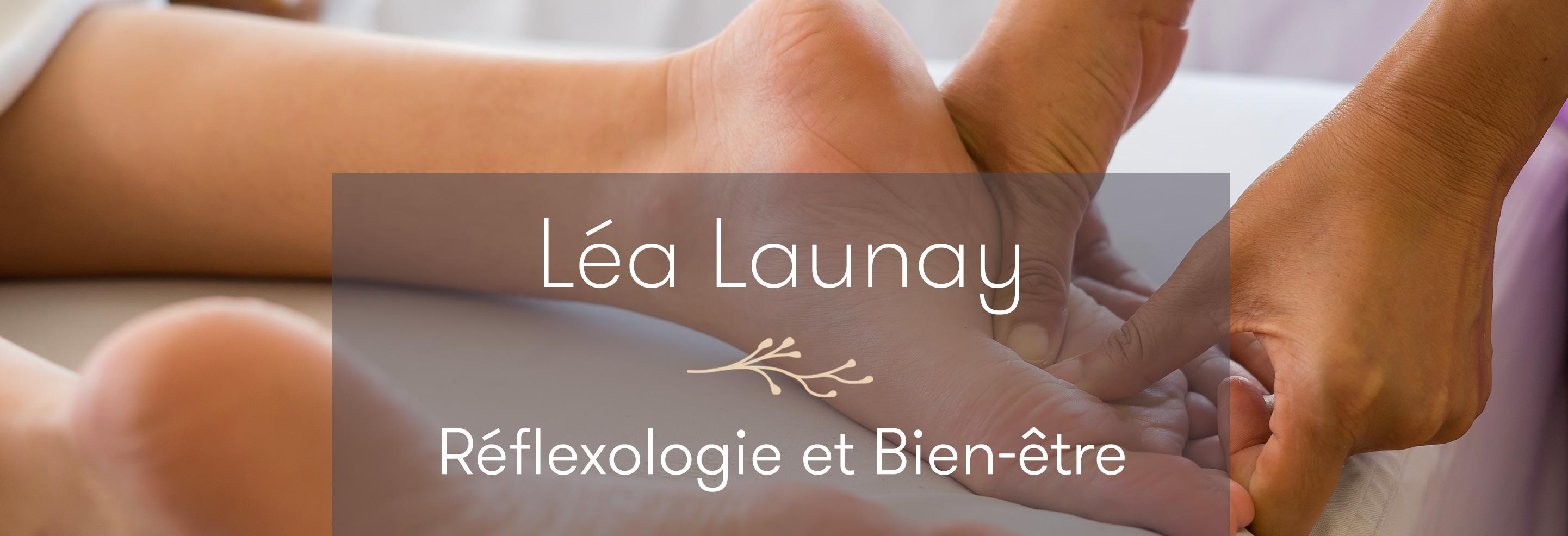 Léa Launay, réfléxologue Morbihan
